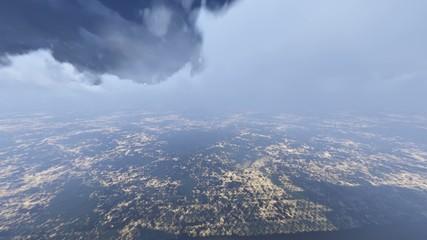 Uçak ve Bulutlar