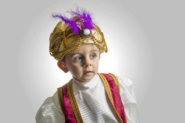 Sultan child.