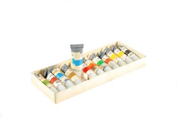 Коробка с красками