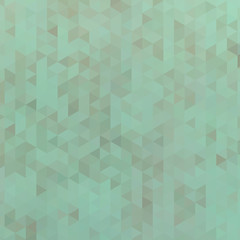 Green triangle abstract background