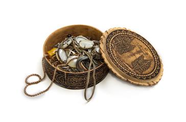 casket with jewelery