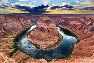 Horseshoe Bend, Colorado River, Grand Canyon, Arizona