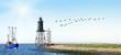 Panorama mit Leuchtturm, Krabbenkutter - 78959747