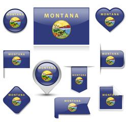 Montana Flag Collection