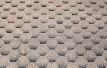 Abstract background texture of cobblestone road pavement
