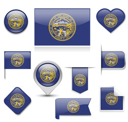 Nebraska Flag Collection