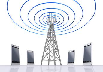 電波とスマートフォン
