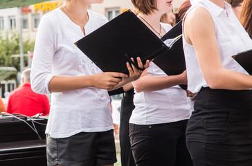Chorsängerinnen