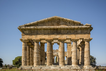 Tempio di Poseidon frontale
