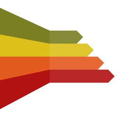Arrow lines background vector