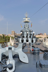The battleship North Carolina in Wilmington