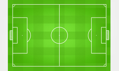 football field pitch vector