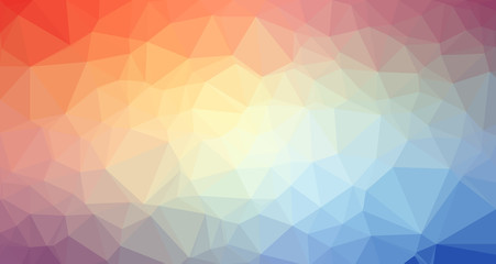 Low Poly trangular trendy Art background