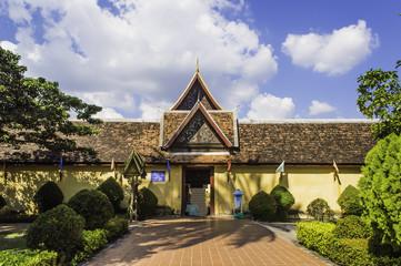Wat Saket in Vientiane, Laos , They are public domain or treasur