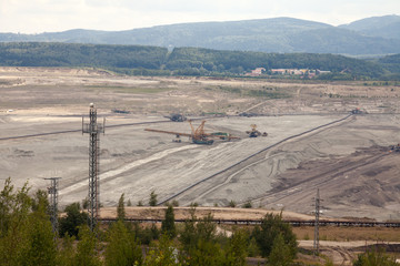 Coal mine, Sokolov,Czech Republic