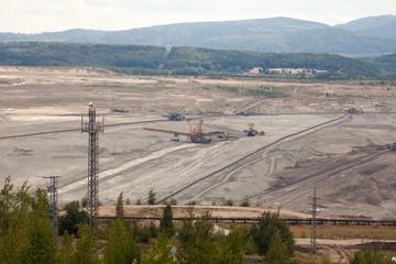 Coal mine, Sokolov,Czech Republic