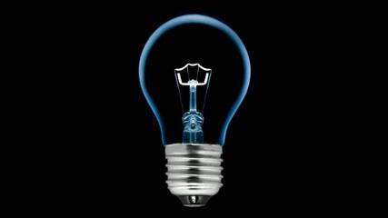 Ampoule à filament animée