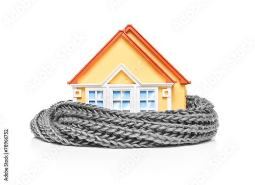 House wrapped in a scarf - 78966752