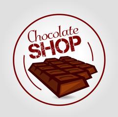 Icon Chocolate shop