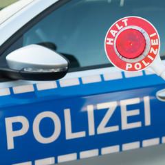 polizeiliche verkehrskontrolle