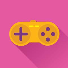 Game Stick Flat Icon
