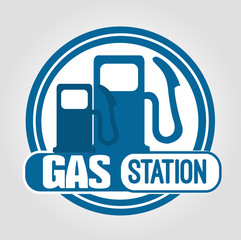 icon gas station