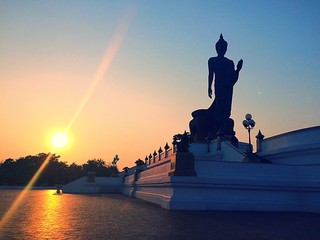 The Principal Buddha Statue Of Buddhamonthon