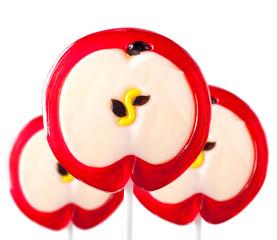 lollipop form of an apple