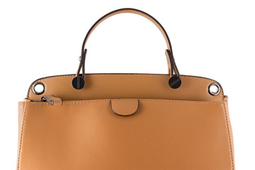 Isolated female handbag