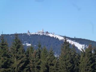 Fichtelberg vom Keilberg gesehen