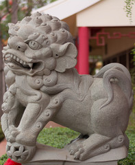 Chinese dragon statue sculpture  .