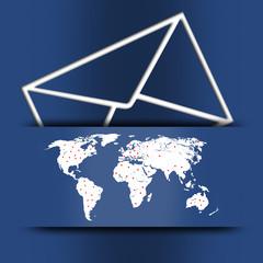 illustration of a red envelope