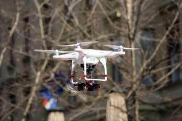 Drone to flying