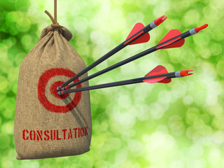 Consultation - Arrows Hit in Red Target.