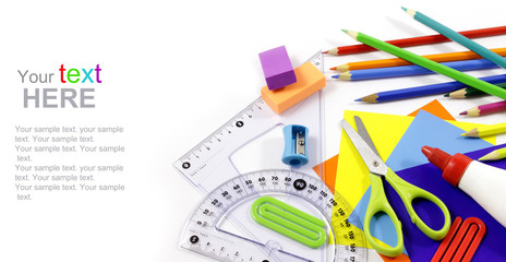 Stationery with copy space