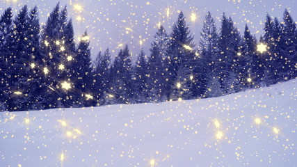 4k, New Year,christmas,3d winter background