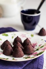 candy chocolate truffles