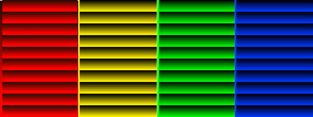 background with colorful metal shutters