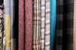 series of wool fabric