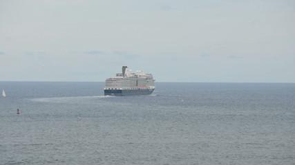 Cruise ship departing Fort Lauderdale Florida