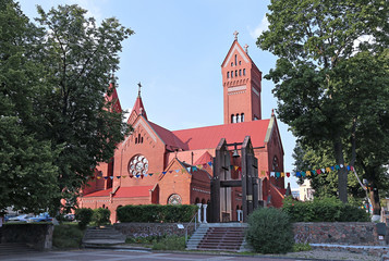 Church of St. Simeon and St. Elena in Minsk