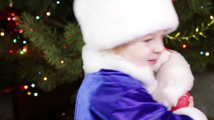 Maiden with Ded Moroz