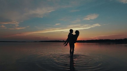 Love in the lake