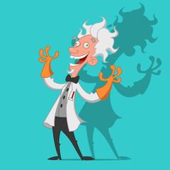 crazy scientist