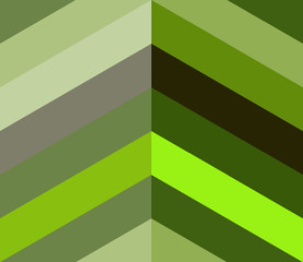 Abstract green geometric pattern