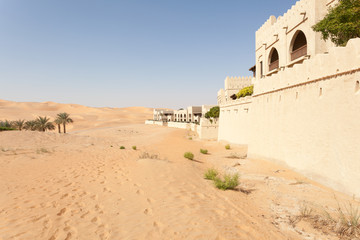 Desert resort in the Emirate of Abu Dhabi, UAE