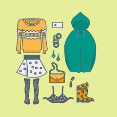 Female clothing things fashion