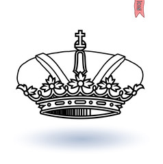 crown, vector.coat of arms