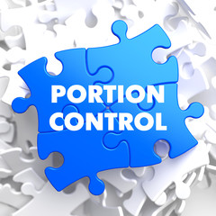 Portion Control on Blue Puzzle.