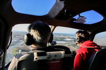 Pilota ed elicottero
